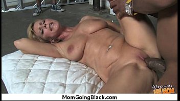 mummy takes thick ebony shaft 1