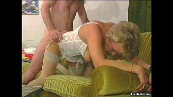 mature anal foray