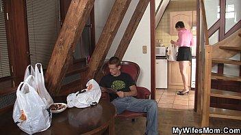 pipe greedy motherinlaw rails him