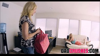 thin teenage stepdaughter zoe parker inhales step dad039_s.