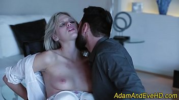 roped stunner gags on knob