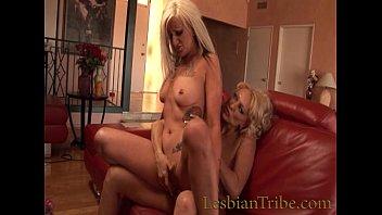 ash-blonde mummies lezzies love to munch vulva and.