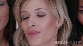 premium mass ejaculation - ria sunn guzzles 66.