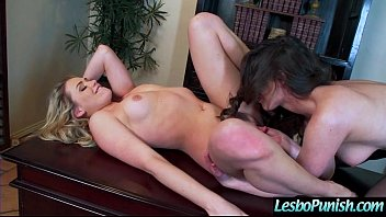 lezzies chick casey mia in penalize orgy vignette.