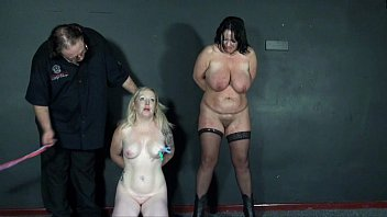 two inexperienced slavegirls ache and tears in extreme.