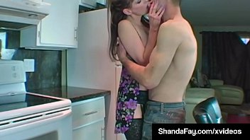 ultra-kinky torrid housewife shanda fay gets humid vagina.