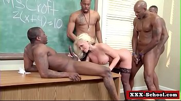 enormous tits pulverized at school by student and.