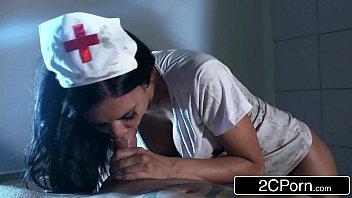 zombie ghost nurse jasmine jae lures unsuspicious boy.