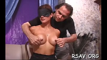 hefty-chested playgirl in aggressive sadism &.