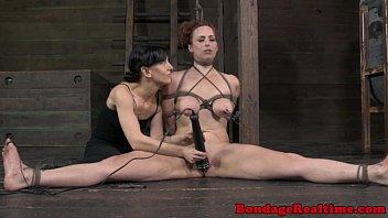 restrict bondage & discipline marionette bella rossi feet flagellated
