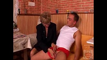 mature mom and the son039_s mate have a.