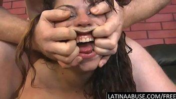 extreme face shag for pukey latina