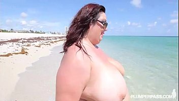 immense boob large tummy plumper cougar gets banged.