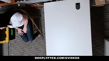 shoplyfter - uber-cute nubile caught stealing blows lp officer
