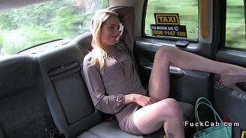 lean light-haired porks in cab for.