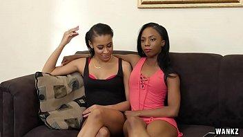 dark-hued lesbos jazzy jamison and sarah.