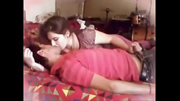 desi gal tearing up  with boy mate.