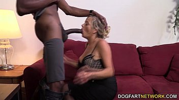cougar lexxi whip having her first-ever interracial bang.