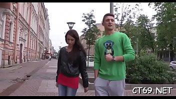 teenager honey satiates her dude
