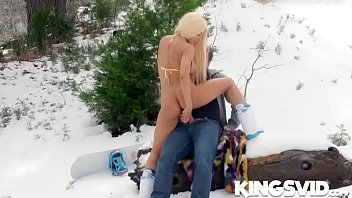 luna starlet in snow angel