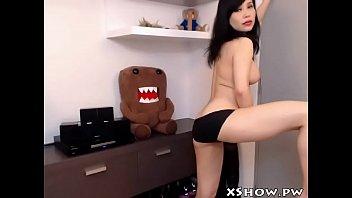 korean supah-sexy female jerk on live.