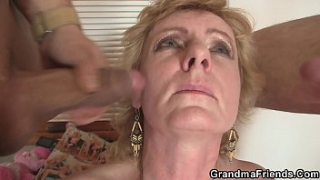two delivery studs ravage elderly chick