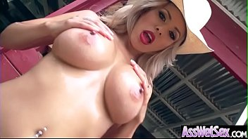 luna starlet lubed up good-sized backside woman love.