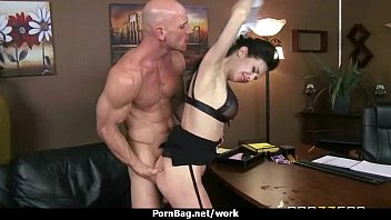 wild office girl drilled rock-hard uncensored.
