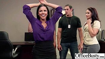 lovemaking gauze in office with whore insatiable huge.