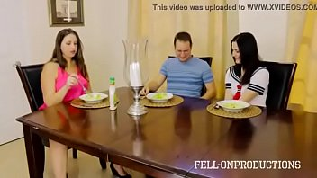 taboo passions step-sister tears up stepbro while mother.