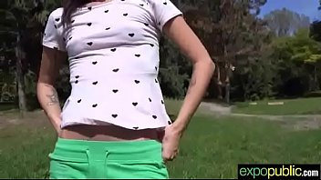 outdoor hook-up on camera with scorching teenager euro.