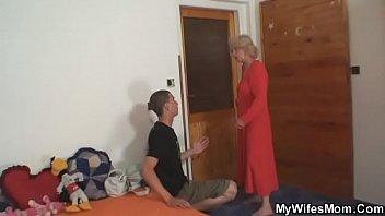 elderly mommy railing her man039_s dinky