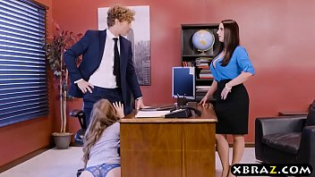 office threeway with two bosses and a marvelous employee
