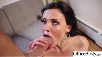 aletta ocean buxom employee female plumbed stiff in.