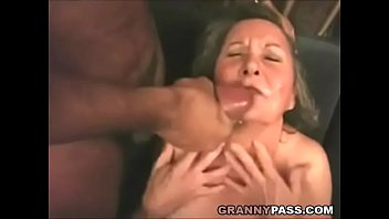 interracial grannie anal foray