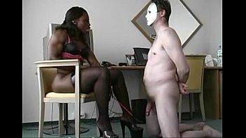 dominatrix and victim 1 sadism & sm flick.