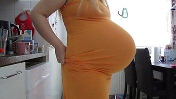 my giant preggo tummy at week 38 - camsquirtgirltumblrcom
