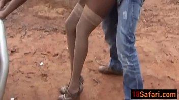 african breezy got her coochie poked rock hard.