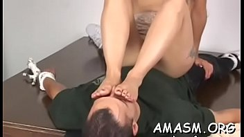 non-pro strangling lady domination
