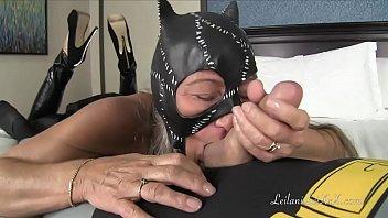 catwoman jerks batballs
