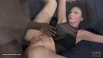 elderly gal ravages with a hefty dark-hued pipe 2