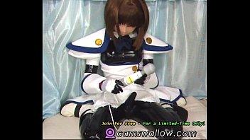 kigurumi animegao costume have fun free-for-all japanese porno.