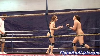 nude sapphic honeys dont stop wresting