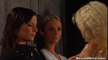 blondie nymphs in limit bondage making love and war