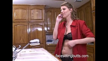 buxom mummy shagging in the kitchen