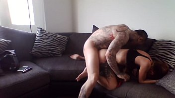 tattoed stud smashes a lovely teenager whit his.