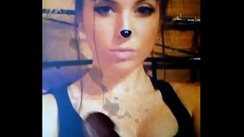 cumtribute for a crimson-hot doll 28