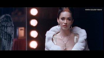 megan fox - glazed braless lingerie amp_ fabulous.