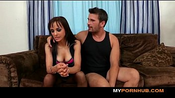 nosey brown-haired gf learns that she.