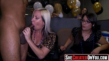 37 cougars caught hotwife on movie at cfnm party10